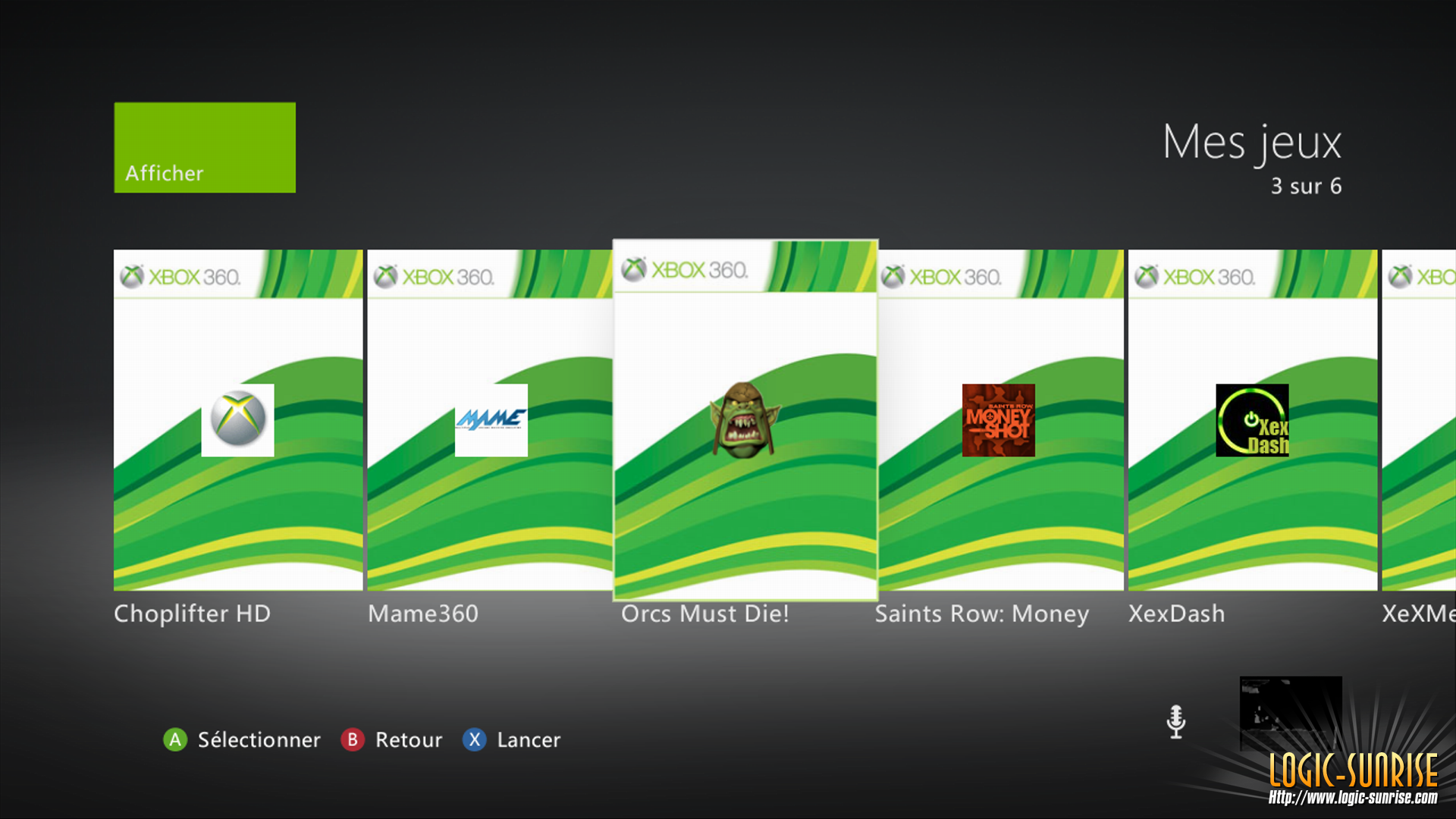 how to change your background on xbox 360 dashboard